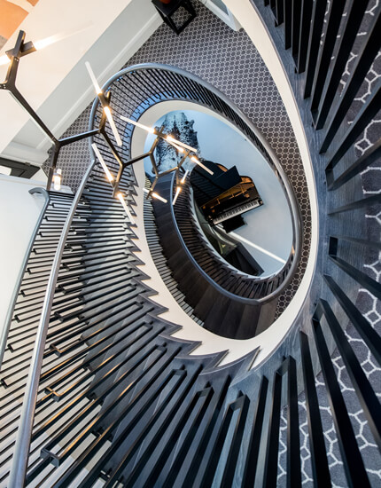 Spiral staircase building contractors SG12 ware hertfordshire