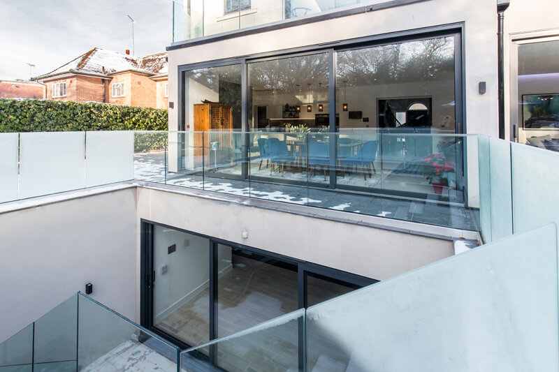 North London new build construction by Aubrey Homes