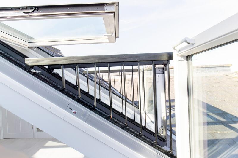 loft conversion balcony North Hertford