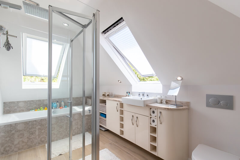 Hertfordshire house extensions bathroom