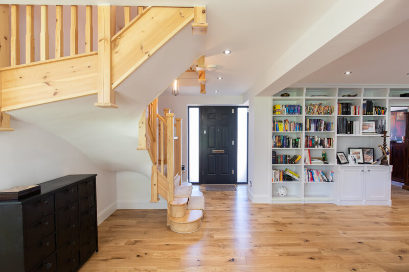 Hertfordshire house extensions staircase