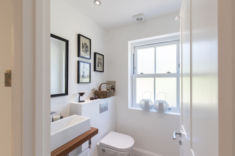Hertfordshire house extensions cloakroom